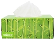 Caboo - Bamboo and Sugarcane 2-Ply Facial Tissue - 184 Tissue(s)