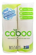 Caboo - Bamboo and Sugarcane 2-Ply Bathroom Tissue 300 Sheets - 12 Roll(s)