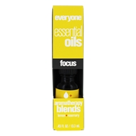 EO Products - Everyone Aromatherapy Blends Essential Oils Focus - 0.45 oz.