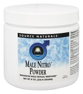 Source Naturals - Male Nitro Powder - 8 oz.
