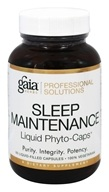 Gaia Herbs Professional - Sleep Maintenance - 60 Liquid-Filled Capsules