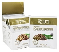 Organic Plant-Protein Powder Natural - 12 x 0.85 oz. Packets