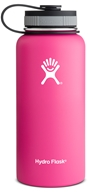 Hydro Flask - Stainless Steel Water Bottle Vacuum Insulated Wide Mouth Pinkadelic Pink - 32 oz.