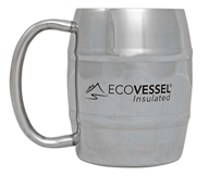 Double Barrel Insulated Stainless Steel Mug