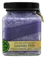 Aloha Bay - Eco Palm Wax Cube Jar Candle Lavender Hills - 6 oz.