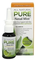 Pure - Homeopathic All Natural Nasal Mist - 1.5 oz.