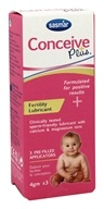Conceive Plus - Conceive Plus 3 Pre-Filled Applicators Pre-Conception Lubricant (4gm x 3)