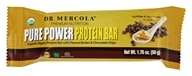 Dr. Mercola Premium Products - Pure Power Protein Bar Peanut Butter & Chocolate Chip - 1.76 oz.