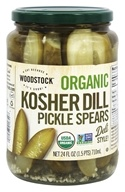 Organic Kosher Dill Pickle Spears