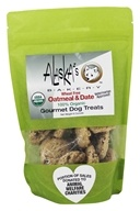 Alaska's Bakery - 100% Organic Gourmet Dog Treats Oatmeal and Date - 6 oz.