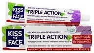 Triple Action Toothpaste with Anticavity Fluoride