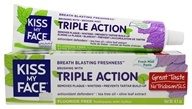 Triple Action Toothpaste Fluoride Free