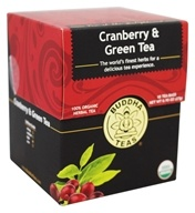 100% Organic Herbal Cranberry & Green Tea