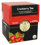 100% Organic Herbal Cranberry Tea