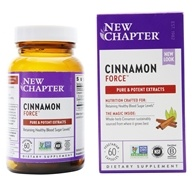 New Chapter - Cinnamon Force - 60 Liquid Capsules