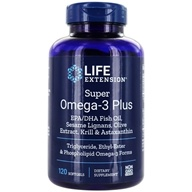 Super Omega-3 Plus EPA/DHA with Sesame Lignans, Olive Extract,