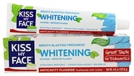 Whitening Toothpaste Gel with Anticavity Fluoride