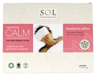 100% Organic Cotton Restoring Calm Headache Pillow