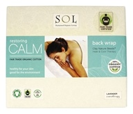100% Organic Cotton Restoring Calm Back Wrap