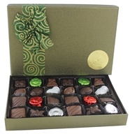 Organic Chocolates Fancy Holiday Assortment