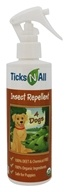 Ticks-N-All - Organic Insect Repellent for Dogs - 8 oz.