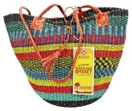 Handwoven African Shoulder Basket