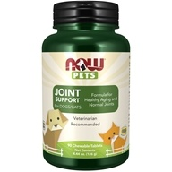 NOW Foods - Now Pets Joint Support for Dogs/Cats - 90 Chewable Tablets