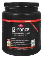 Olympian Labs - Performance Sports Nutrition E-Force Sustained Release Pre-Workout Fruit Punch - 525 Grams