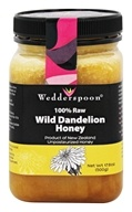100% Raw Wild Dandelion Honey Unpasteurized