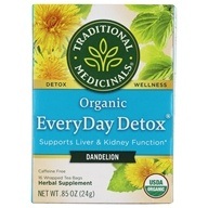 Traditional Medicinals - Organic EveryDay Detox Dandelion - 16 Tea Bags