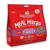 Freeze-Dried Dog Food Tantalizing Turkey Meal Mixers