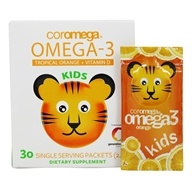 Coromega - Kids Omega 3-Squeeze Orange - 30 Packet(s)