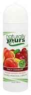 Nature Labs - Naturally Yours Personal Lubricant Peach Cranberry - 8 oz.
