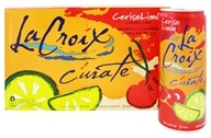 LaCroix - 100% Natural Sparkling Water Cherry-Lime - 8 Can(s)