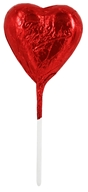 Organic Vegan Heart Lollipops