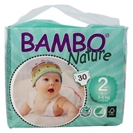 Bambo Nature - Baby Diapers Stage 2 Mini (7-13 lbs) - 30 Diaper(s)