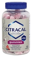 Bayer Healthcare - Citracal Calcium + D3 Gummies Mixed Berry 500 mg. - 70 Gummies