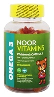 Noor Vitamins - Children's Omega 3 - 90 Gummies