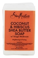 Coconut & Hibiscus Shea Butter Bar Soap with Songyi Mushroom