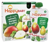 Organic HappyBaby Simple Combos Pouches