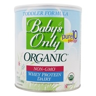 Organic Dairy Whey Protein Toddler Formula