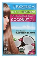 St. Tropica - Organic Botanically Infused Coconut Oil - 1.5 oz.