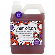 Indigo Wild - Zum Clean Aromatherapy Laundry Soap Frankincense & Patchouli - 32 oz.