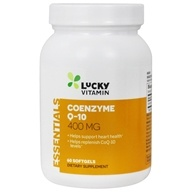 LuckyVitamin - Coenzyme Q-10 400 mg. - 60 Softgels