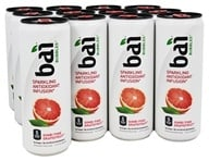 Bai - Antioxidant Infused Beverage Bubbles Gimbi Pink Grapefruit - 12 Can(s)