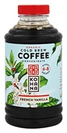 Kohana Coffee - Organic Cold Brew Coffee Concentrate French Vanilla - 16 oz.