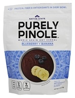 Native State Foods - Purely Pinole Blueberry + Banana - 9.7 oz.