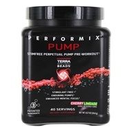 Performix - Pump Stim-Free Perpetual Pump Pre-Workout 40 Servings Cherry Limeade - 8.27 oz.