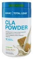 GNC - Total Lean CLA Powder Vanilla Wafer - 10.04 oz.