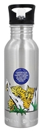 New Wave Enviro Products - Stainless Steel Endangered Species Water Bottle Amur Leopard - 20 oz.